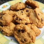 Erdnussbutter Kekse mit Schokolade